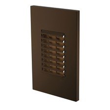 Louver Outdoor LED Turtle Step Light