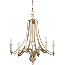 Evington Sunset Gold Chandelier
