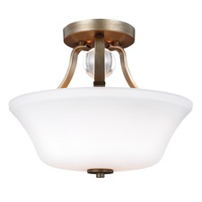 Evington Semi Flush Ceiling Light