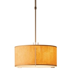 Exos Single Shade Medium Pendant Metallic Finish