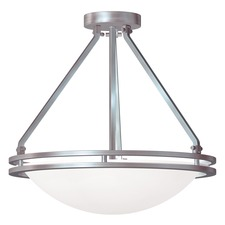 Aztec Semi Flush Ceiling Light