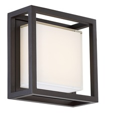 Framed Outdoor Wall Light
