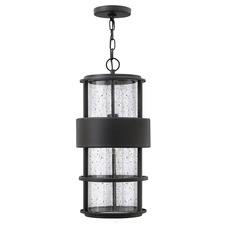 Saturn Outdoor Pendant Satin Black