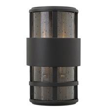 Saturn Outdoor Pocket Wall Light Satin Black
