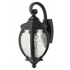 Forum Outdoor Wall Light Museum Black