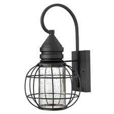 New Castle Outdoor Hook Arm Wall Light