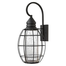 New Castle Outdoor Oval Wall Light