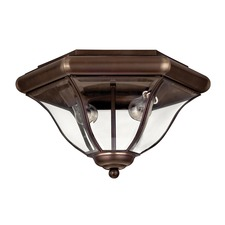 San Clemente Copper Bronze Outdoor Ceiling Light Fixture