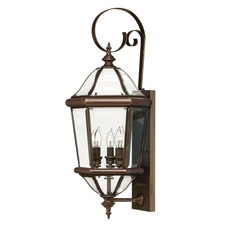 Augusta Outdoor Hook Arm Wall Light