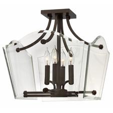 Wingate Semi Flush Ceiling Light
