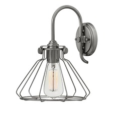 Congress Flat Cage Wall Light