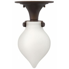 Congress LED Teardrop Semi Flush Ceiling Light