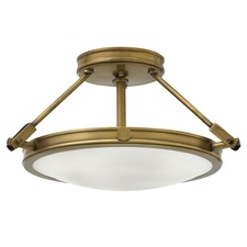 Collier Semi Flush Ceiling Light