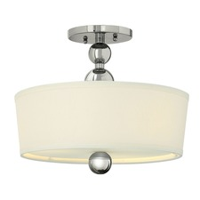 Zelda LED Semi Flush Ceiling Light