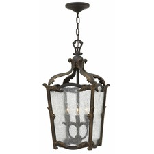 Sorrento 3 Light Outdoor Pendant