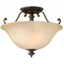 Dunhill Semi Flush Ceiling Light