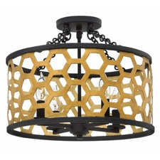 Felix Semi Flush Ceiling Light