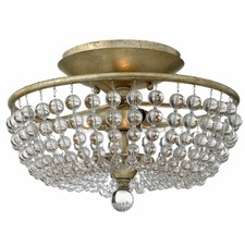 Caspia Semi Flush Ceiling Light
