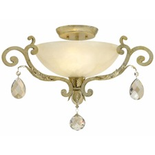 Barcelona Semi Flush Ceiling Light