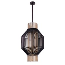 Aviary Octagon Long Pendant