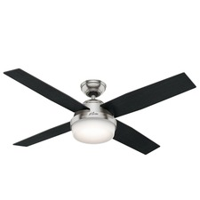 Dempsey Ceiling Fan with Light