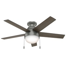 Modern Ceiling Fan with Light