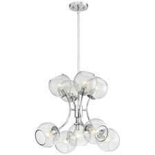 Exposed Chandelier