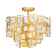 Elrose Semi Flush Ceiling Light