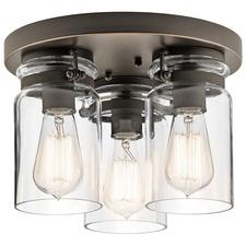 Brinley Semi Flush Ceiling Light