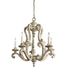 Hayman Bay Wood Frame Chandelier