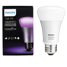 Hue A19 White and Color Ambiance Single Bulb
