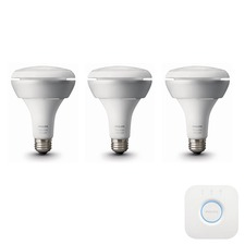 Hue BR30 White and Color Starter Kit with Bridge