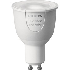 Hue GU10 White and Color Ambiance Single Bulb