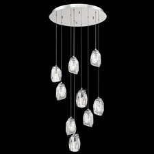 Diffi 9-Light Round Pendant