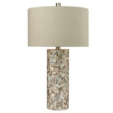 Herringbone Shell Table Lamp