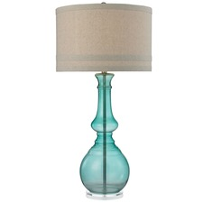 Embellished Stem Globe Table Lamp