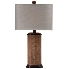 Cork Table Lamp