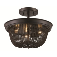 7070 Ceiling Semi Flush Light