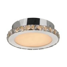 Crystal Ceiling Flush Light