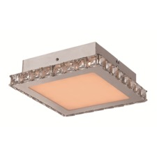 Crystal Square Ceiling Flush Light