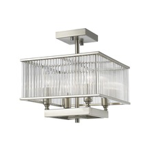 Zalo Semi Flush Ceiling Light