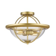 Persis Ceiling Semi Flush Light