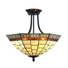Prairie Garden Ceiling Semi Flush Light