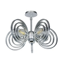 Frequency Ceiling Semi Flush Light