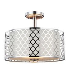 Jourdanton Ceiling Semi Flush Light