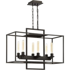 Cubic Linear Chandelier