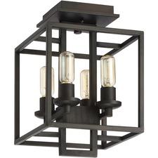 Cubic Semi Flush Ceiling Light
