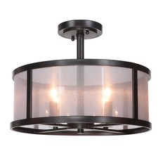 Danbury Semi Flush Ceiling Light