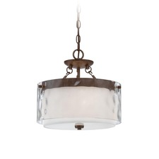 Kenswick Semi Flush Ceiling Light