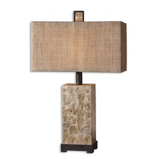 Rustic Pearl Table Lamp